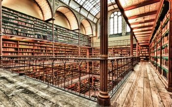 Man Made - Library Wallpapers and Backgrounds ID : 487483