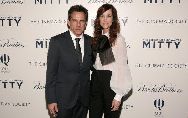 Movie The Secret Life of Walter Mitty Ben Stiller Kristen Wiig HD Wallpaper | Background Image