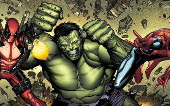 Комиксы - Hulk Wallpapers and Backgrounds ID : 488266