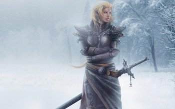 Fantasy - Women Warrior Wallpapers and Backgrounds ID : 489365