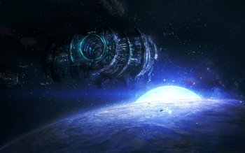 Sciencefiction - Space Station Wallpapers and Backgrounds ID : 489533