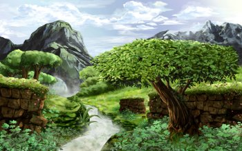 Fantasy - Landscape Wallpapers and Backgrounds ID : 491936