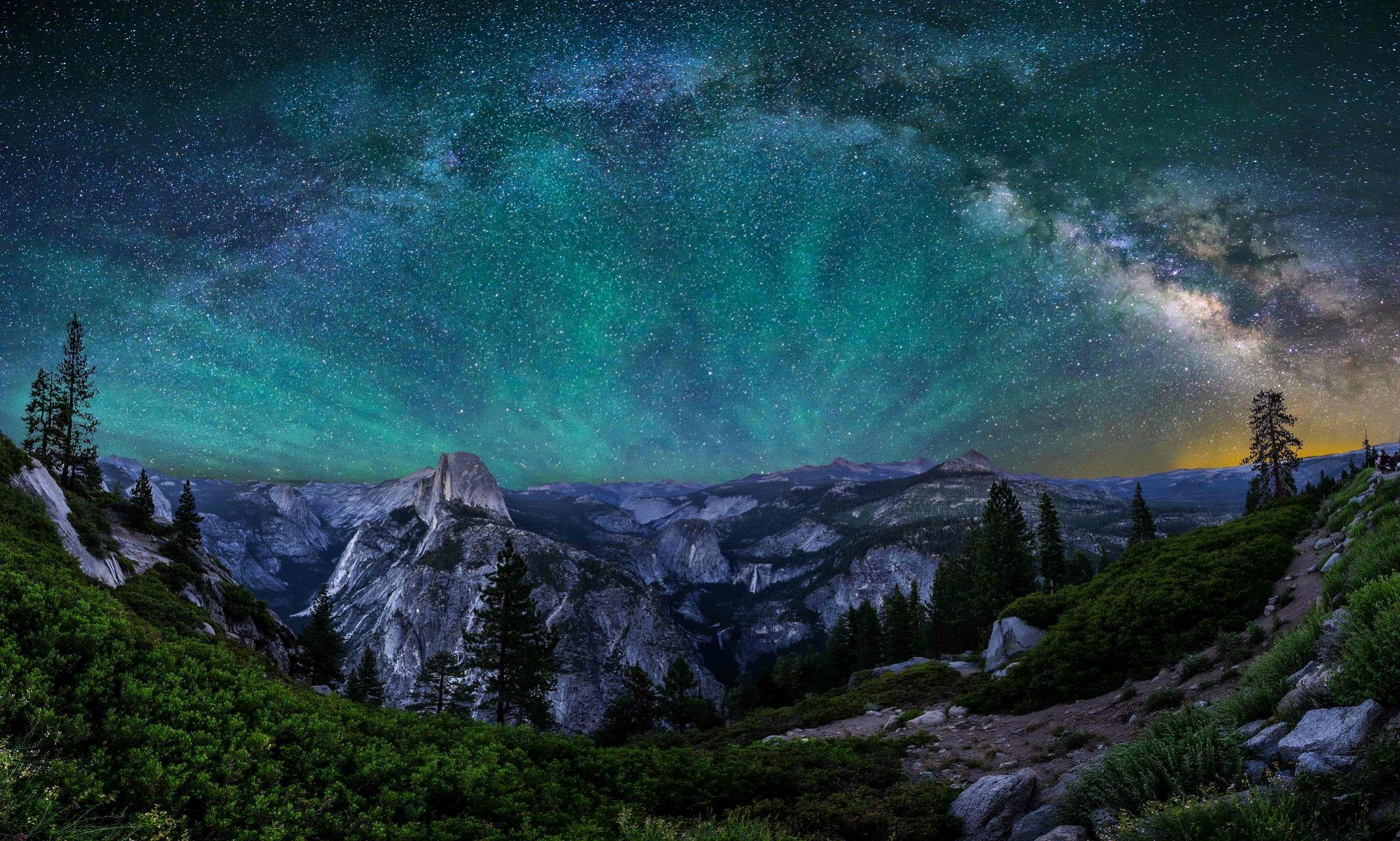 earth yosemite national park wallpaper