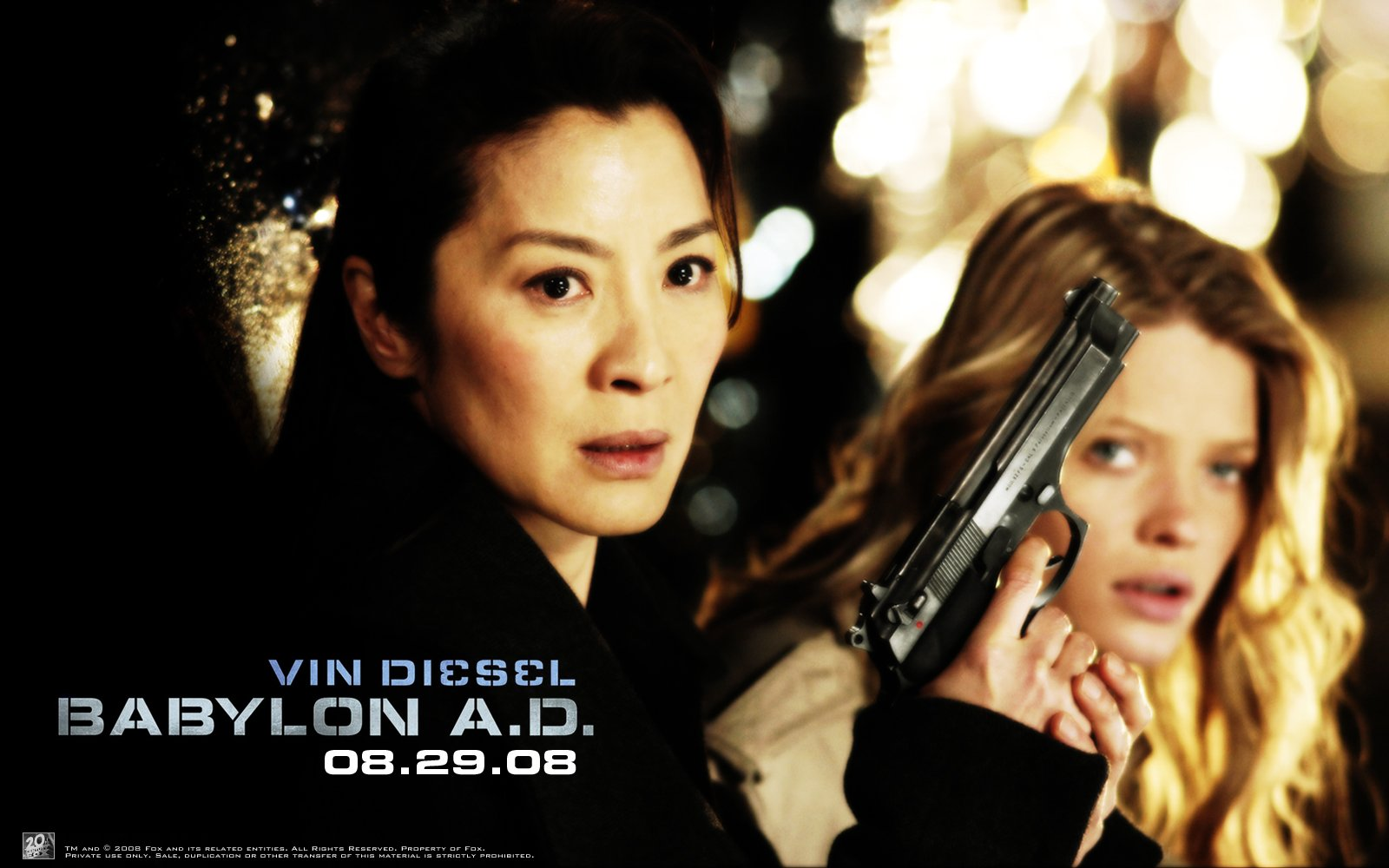 Movie - Babylon A.D.  Mélanie Thierry Michelle Yeoh Wallpaper