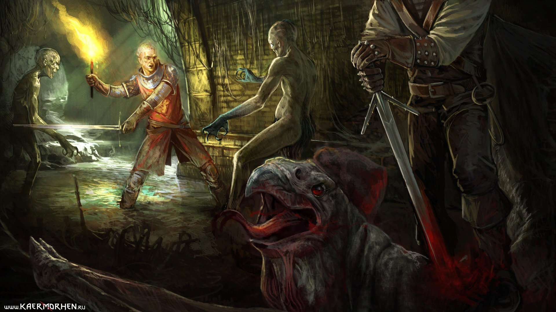 The Witcher Hd Wallpaper  Background Image  1920X1080  Id492935 - Wallpaper Abyss-6978