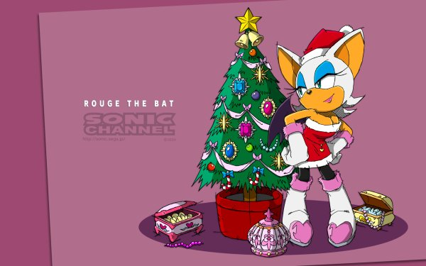 Video Game Sonic the Hedgehog Sonic Rouge the Bat HD Wallpaper | Background Image