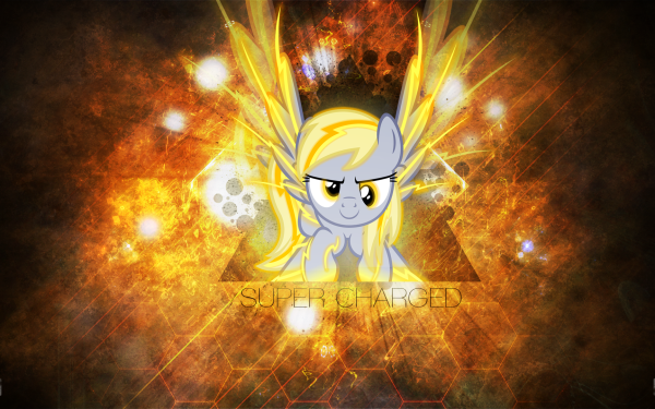 TV Show My Little Pony: Friendship is Magic My Little Pony Derpy Hooves Vector Text HD Wallpaper | Background Image