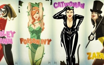 Comics - Gotham City Sirens Wallpapers and Backgrounds ID : 493922