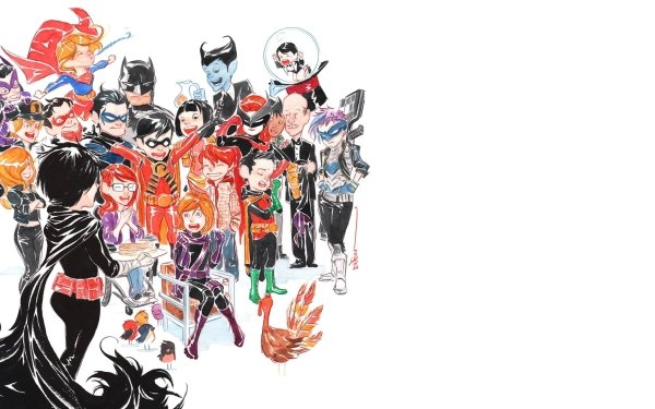 Comics Batman Huntress Supergirl Nightwing Robin Alfred Pennyworth HD Wallpaper | Background Image