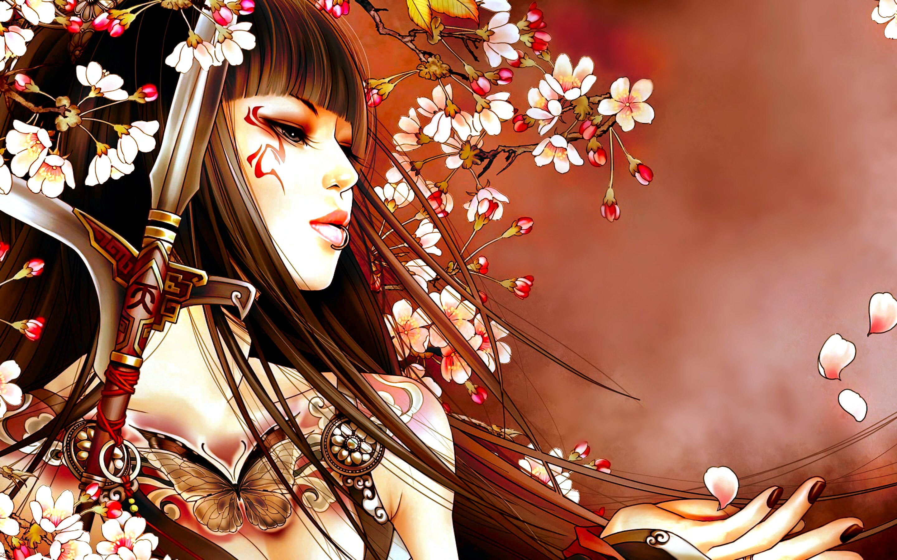 7 geisha hd wallpapers backgrounds wallpaper abyss for Oriental wallpaper