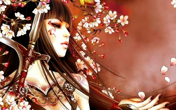 Fantasy - Geisha Wallpapers and Backgrounds ID : 494335