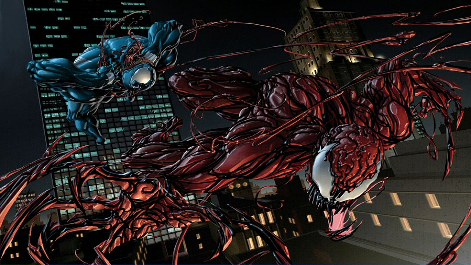 Comics - Venom Vs Carnage  Venom Carnage Wallpaper