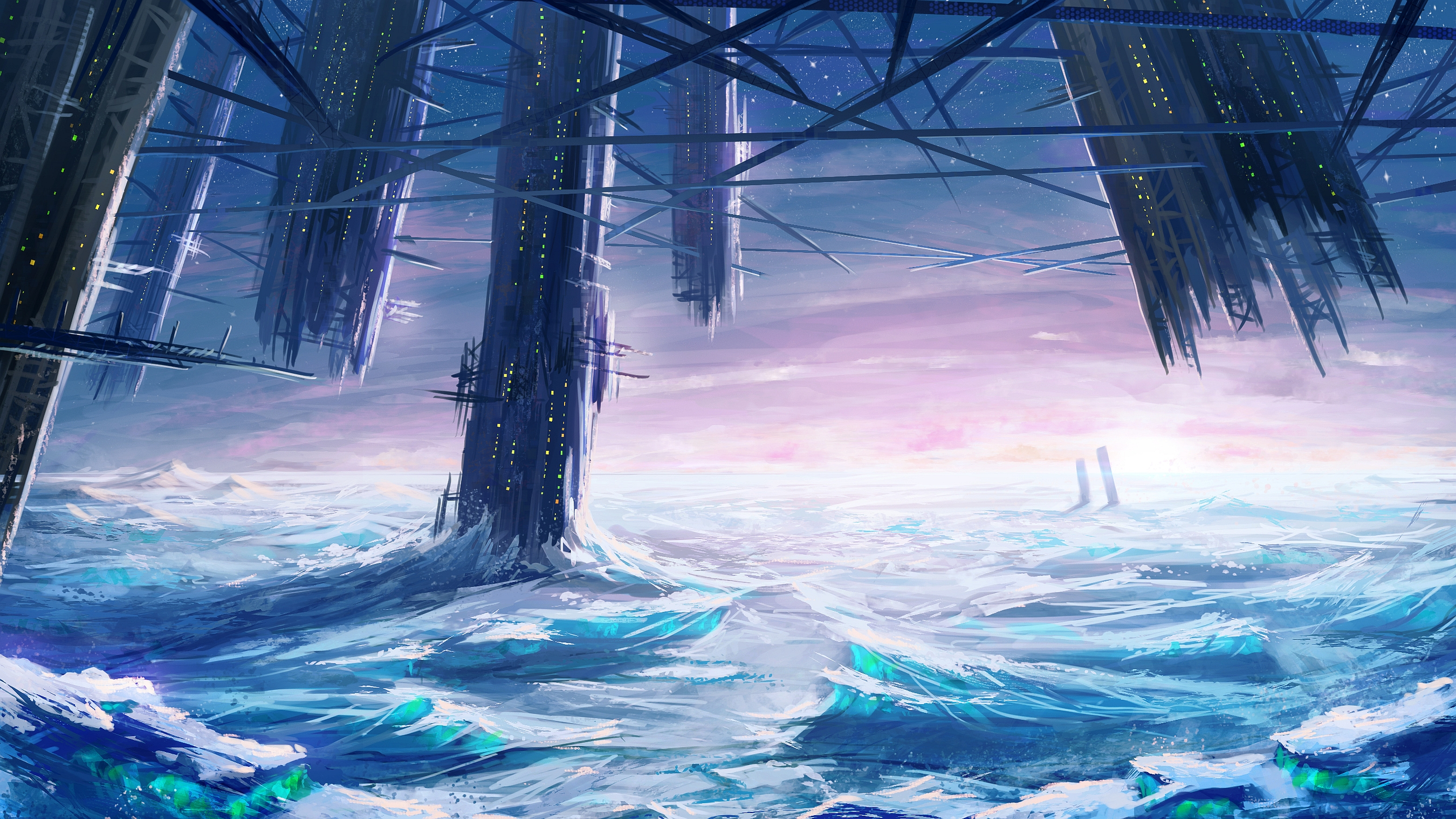 fantasy landscape wallpaper widescreen