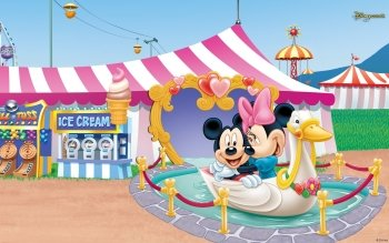 Cartoon - Mickey And Minnie Wallpapers and Backgrounds ID : 498054