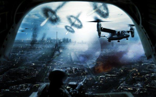Military Battle Wars Air Battle HD Wallpaper | Background Image