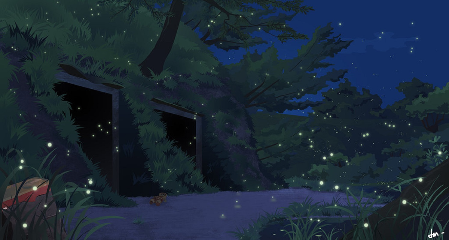 Grave of the Fireflies Wallpaper and Background | 1494x800 ...