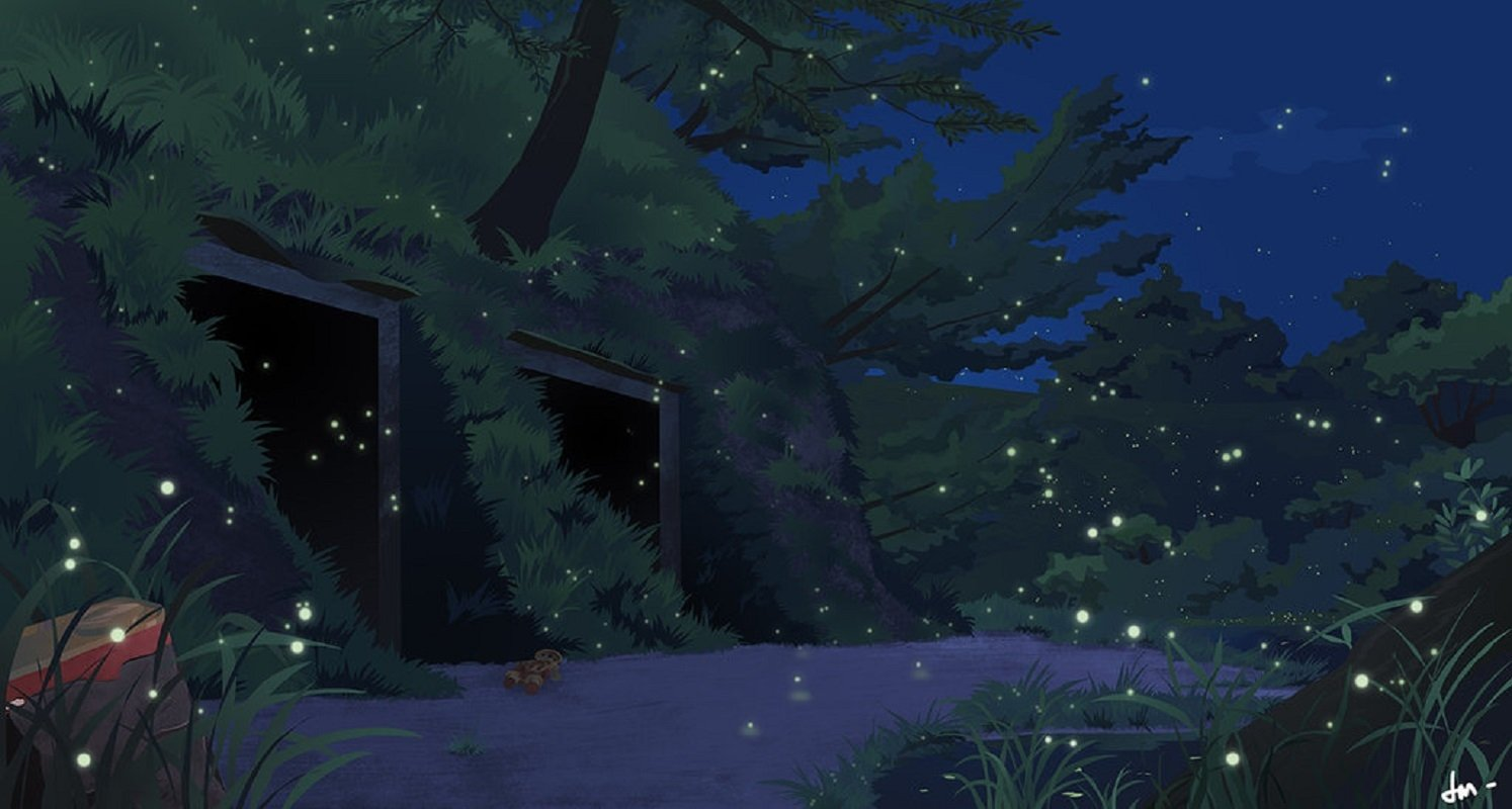 Grave Of The Fireflies Wallpaper And Background Image 1494x800