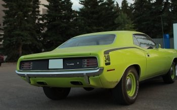 Vehicles - Plymouth Barracuda Wallpapers and Backgrounds ID : 500869