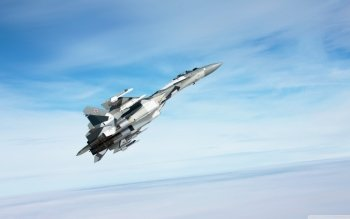 Military - Sukhoi Su-35 Wallpapers and Backgrounds ID : 501063