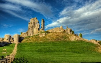 Man Made - Corfe Castle Wallpapers and Backgrounds ID : 501251