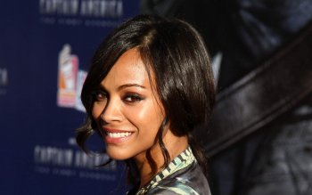 Berühmte Personen - Zoe Saldana Wallpapers and Backgrounds ID : 501332