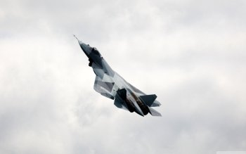 Military - Sukhoi PAK FA Wallpapers and Backgrounds ID : 501745