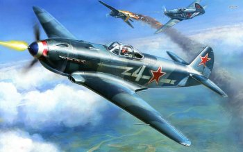 Военные  - Yakovlev Yak 3 Wallpapers and Backgrounds ID : 502072