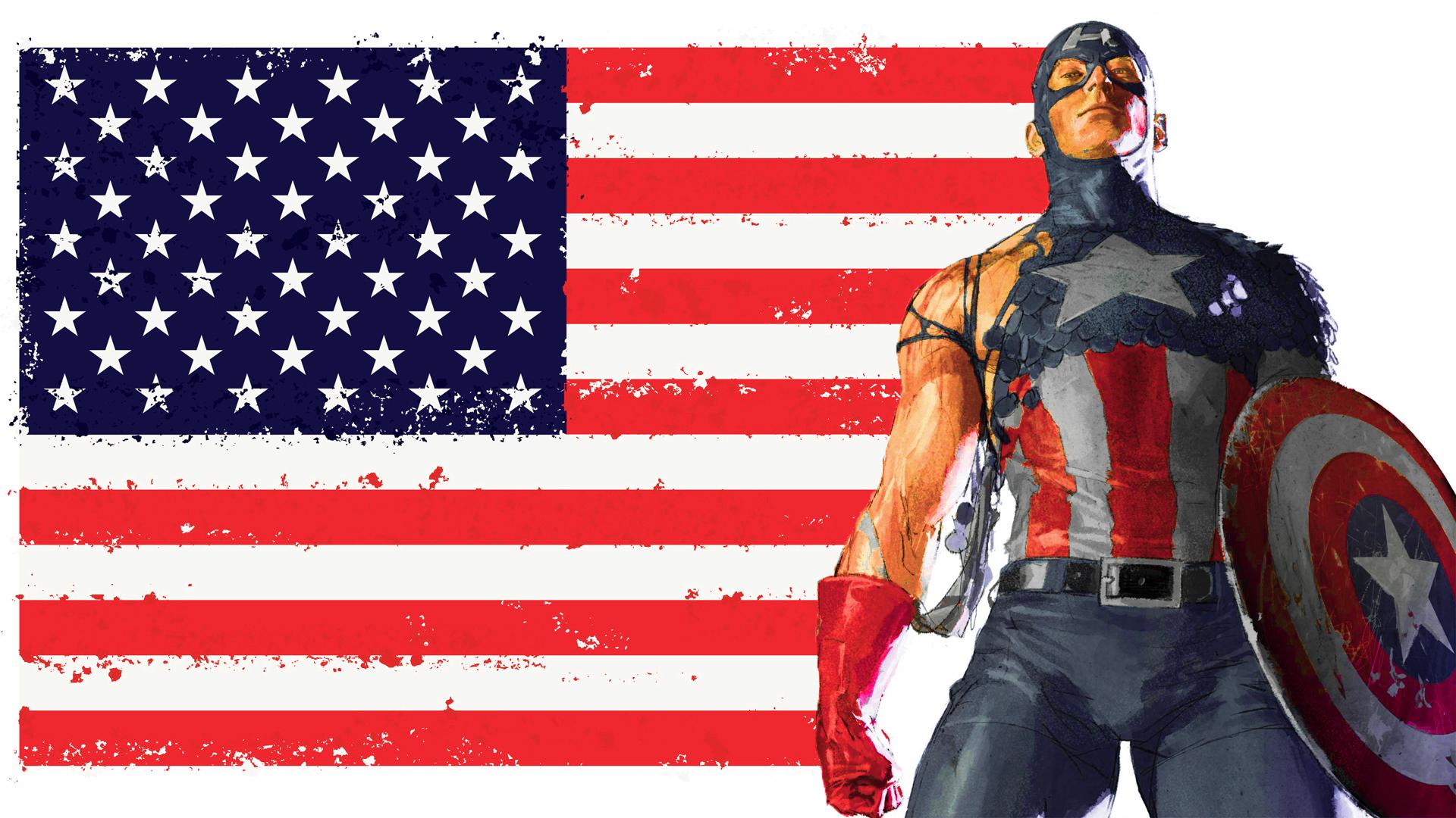 Papel De Parede Do Capitao America: Capitão América Papel De Parede HD