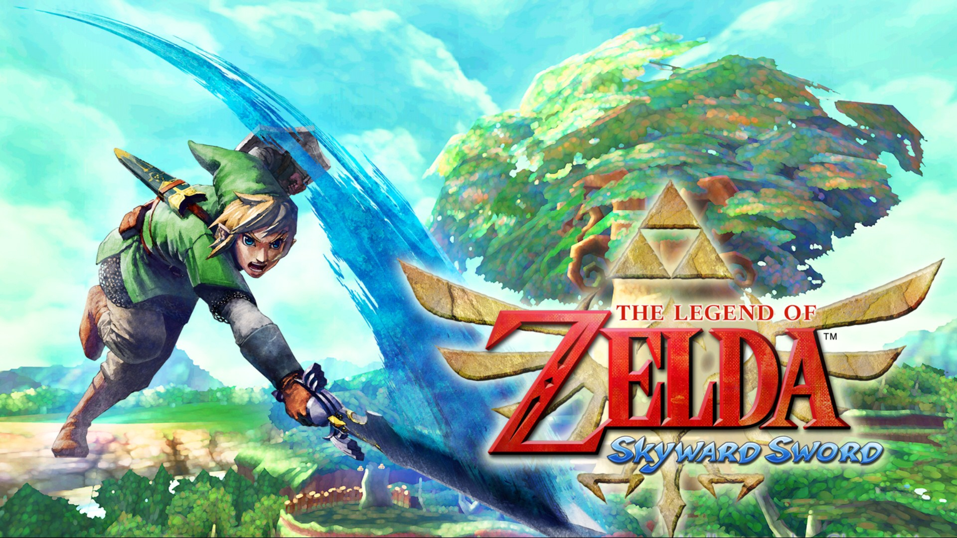 The Legend Of Zelda Skyward Sword Hd Wallpaper Background Image