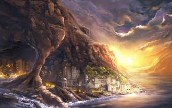 Fantasy - City Wallpapers and Backgrounds ID : 506782
