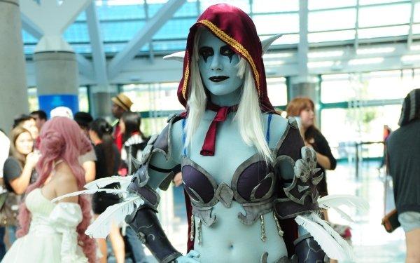 Women Cosplay World of Warcraft Sylvanas Windrunner HD Wallpaper | Background Image
