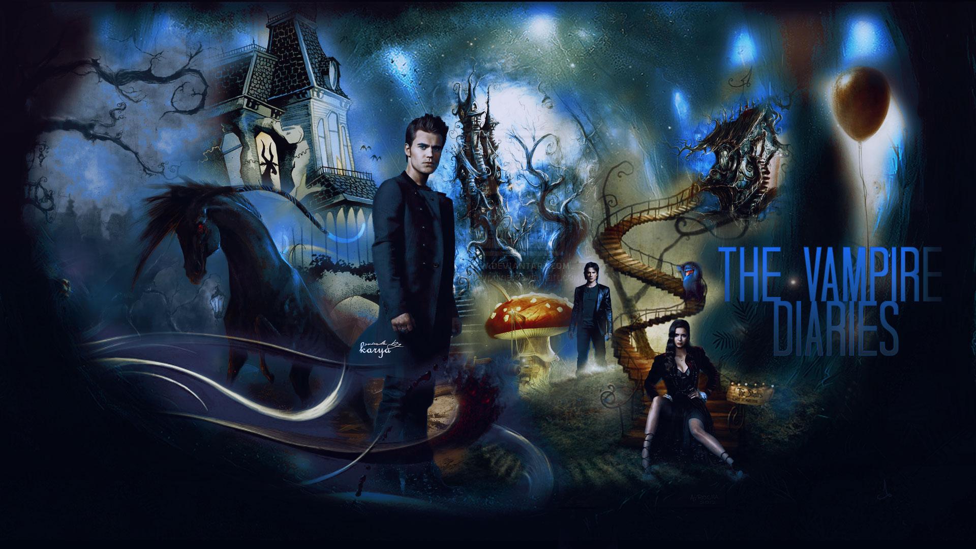 Vampire Wallpaper Desktop Hd Vampire Diaries...