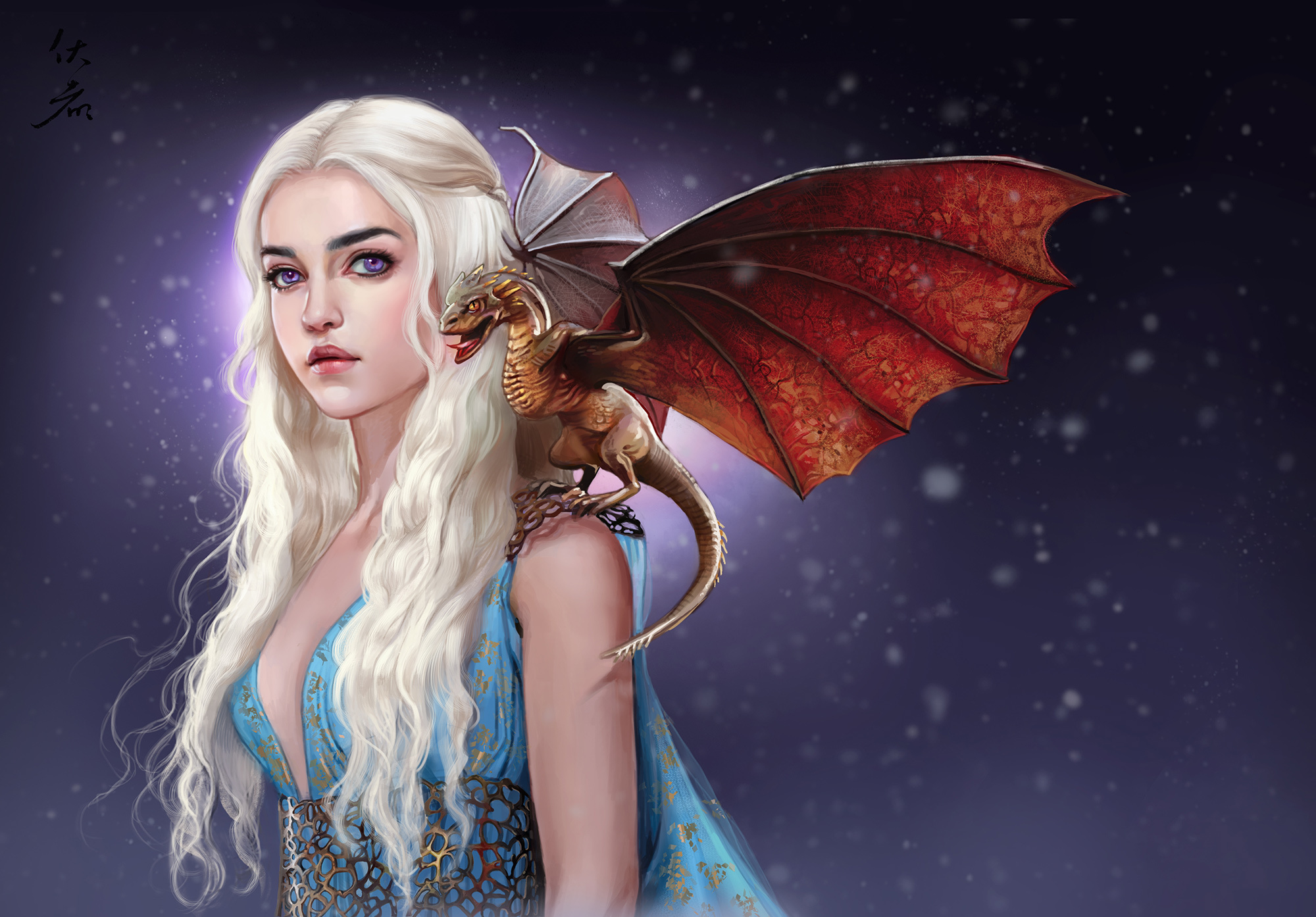 Khaleesi: Mother Of Dragons Full HD Wallpaper And