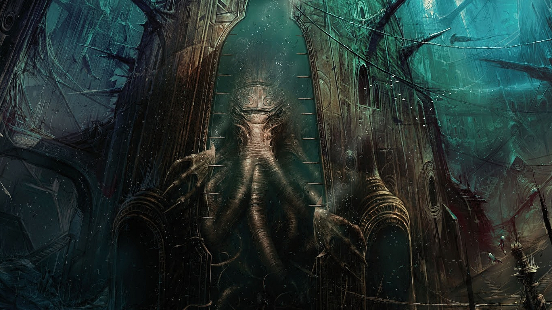 cthulhu computer wallpapers desktop backgrounds
