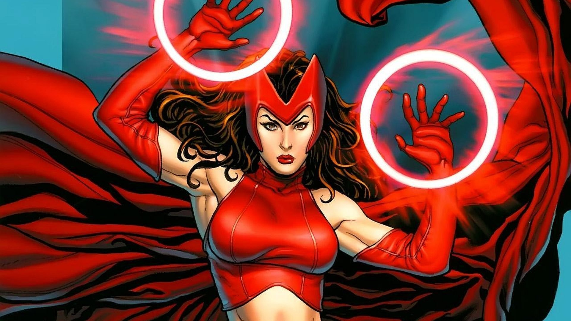 47 Scarlet Witch HD Wallpapers | Background Images - Wallpaper Abyss