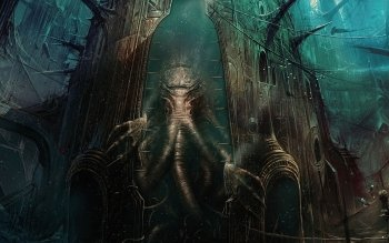Género Fantástico - Cthulhu Wallpapers and Backgrounds ID : 509983