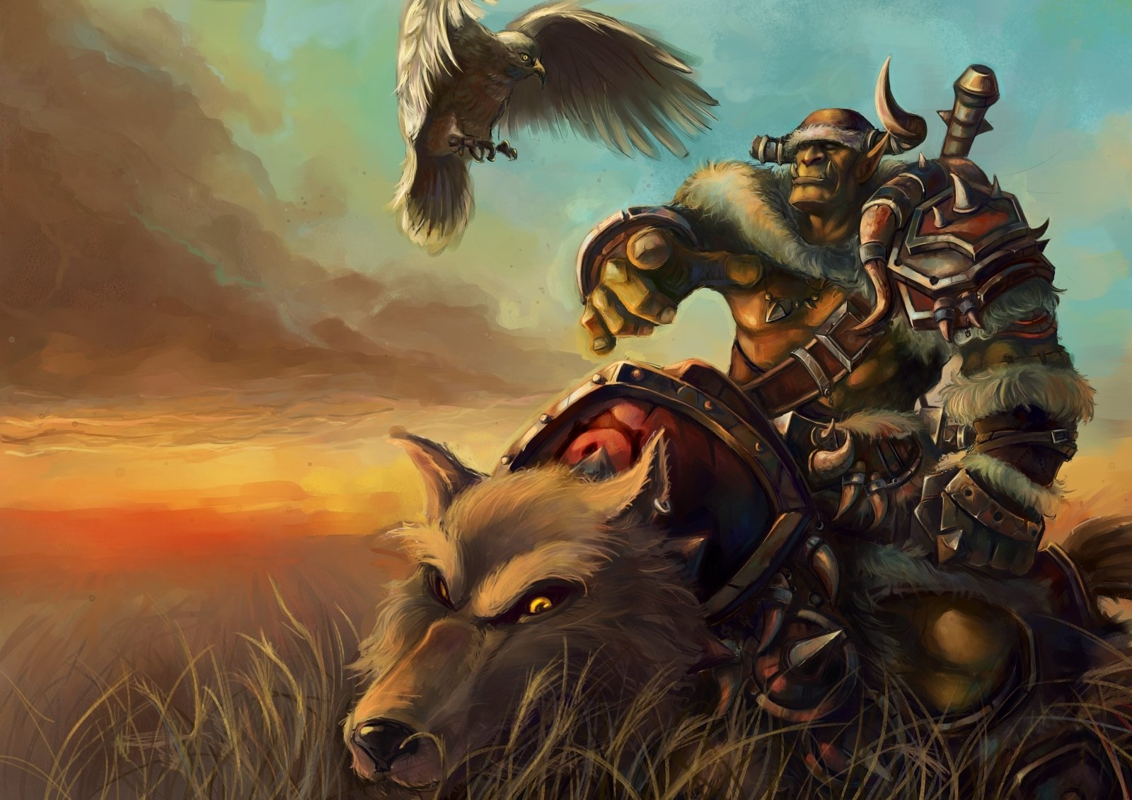Orc Rider Wallpaper and Background Image | 1600x1131 | ID ...