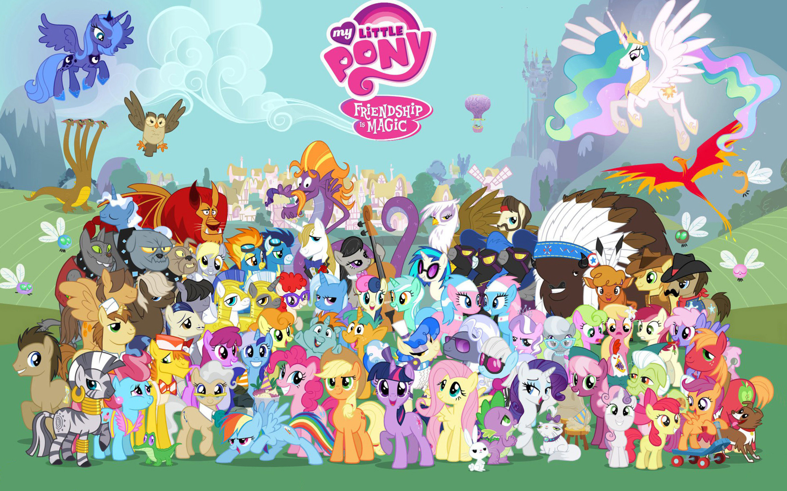 HD Wallpaper | Background Image ID:512795. 2560x1600 TV Show My Little Pony: ...