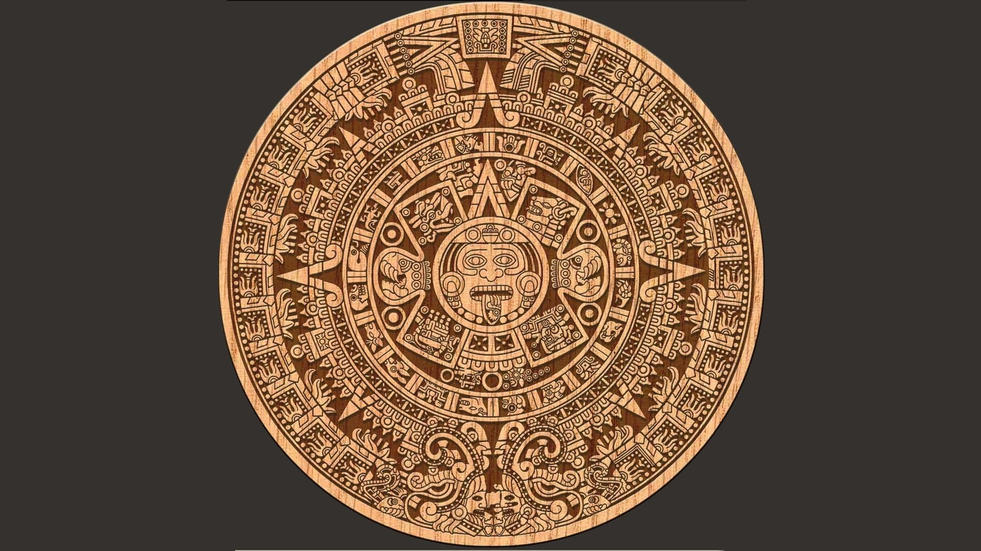 Aztec Calendar Wallpaper Backgrounds : Aztec full hd wallpaper and background id