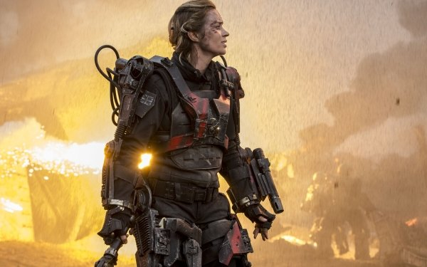 Movie Edge Of Tomorrow Emily Blunt HD Wallpaper | Background Image