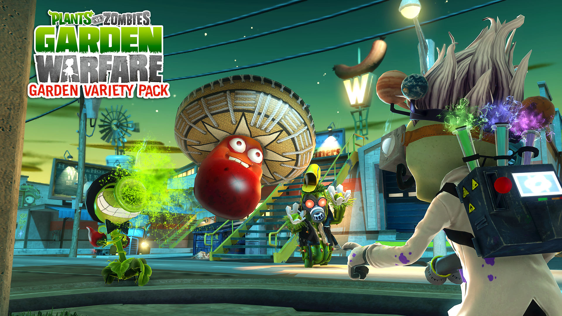 Plants Vs Zombies Garden Warfare Full Hd Fondo De Pantalla And Fondo De Escritorio