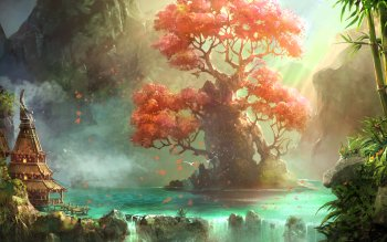 Fantasy - Landscape Wallpapers and Backgrounds ID : 516512