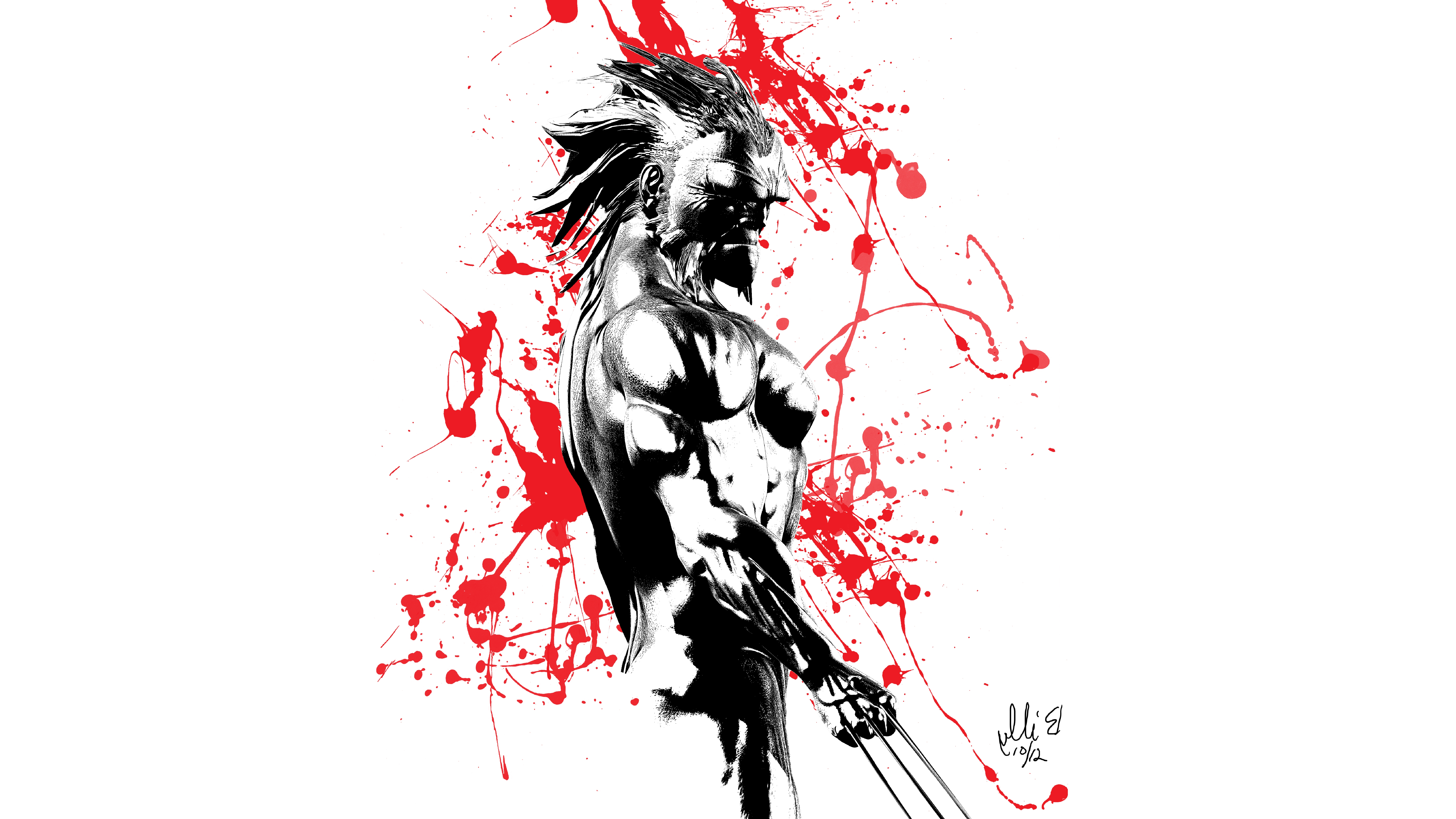 Wolverine 8k ultra hd wallpaper background image 8000x4500 id 517351 wallpaper abyss - Wallpaper wolverine 4k ...