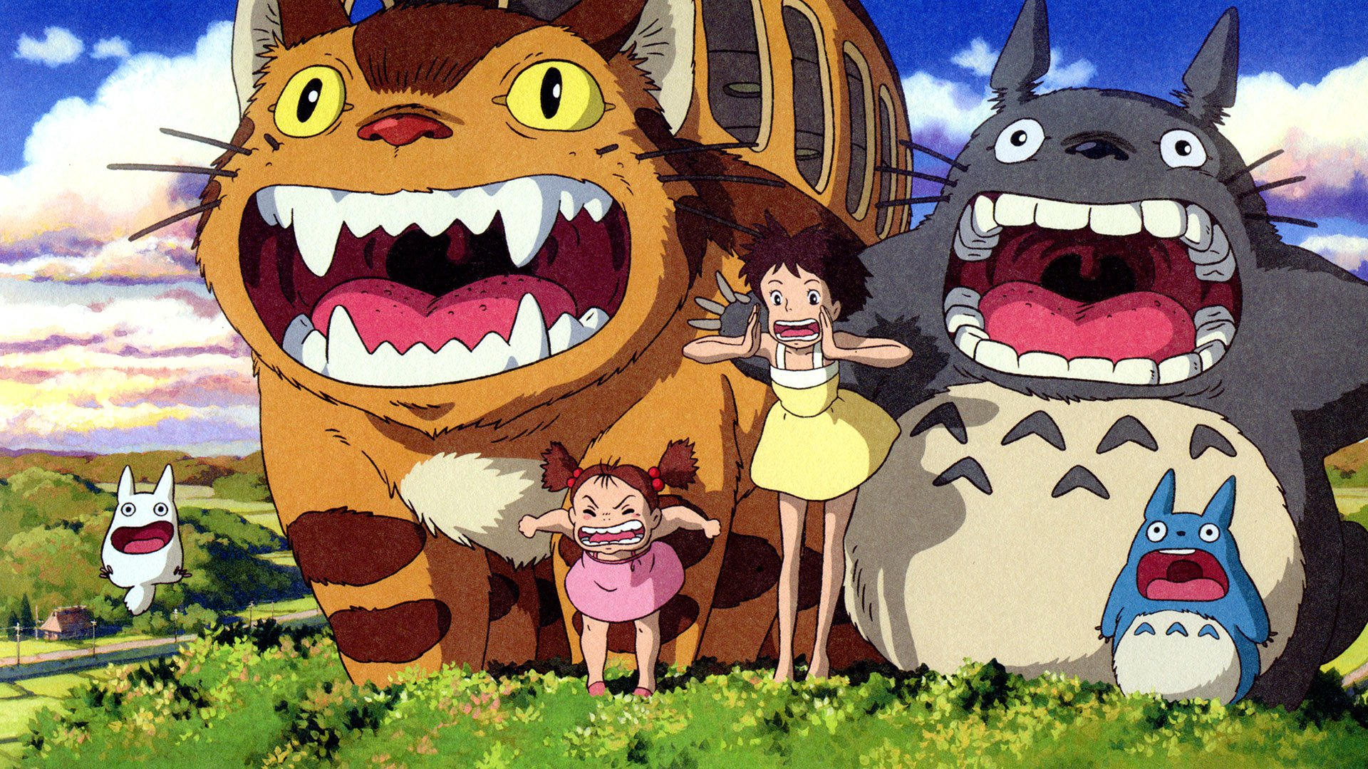 80 My Neighbor Totoro Hd Wallpapers Background Images