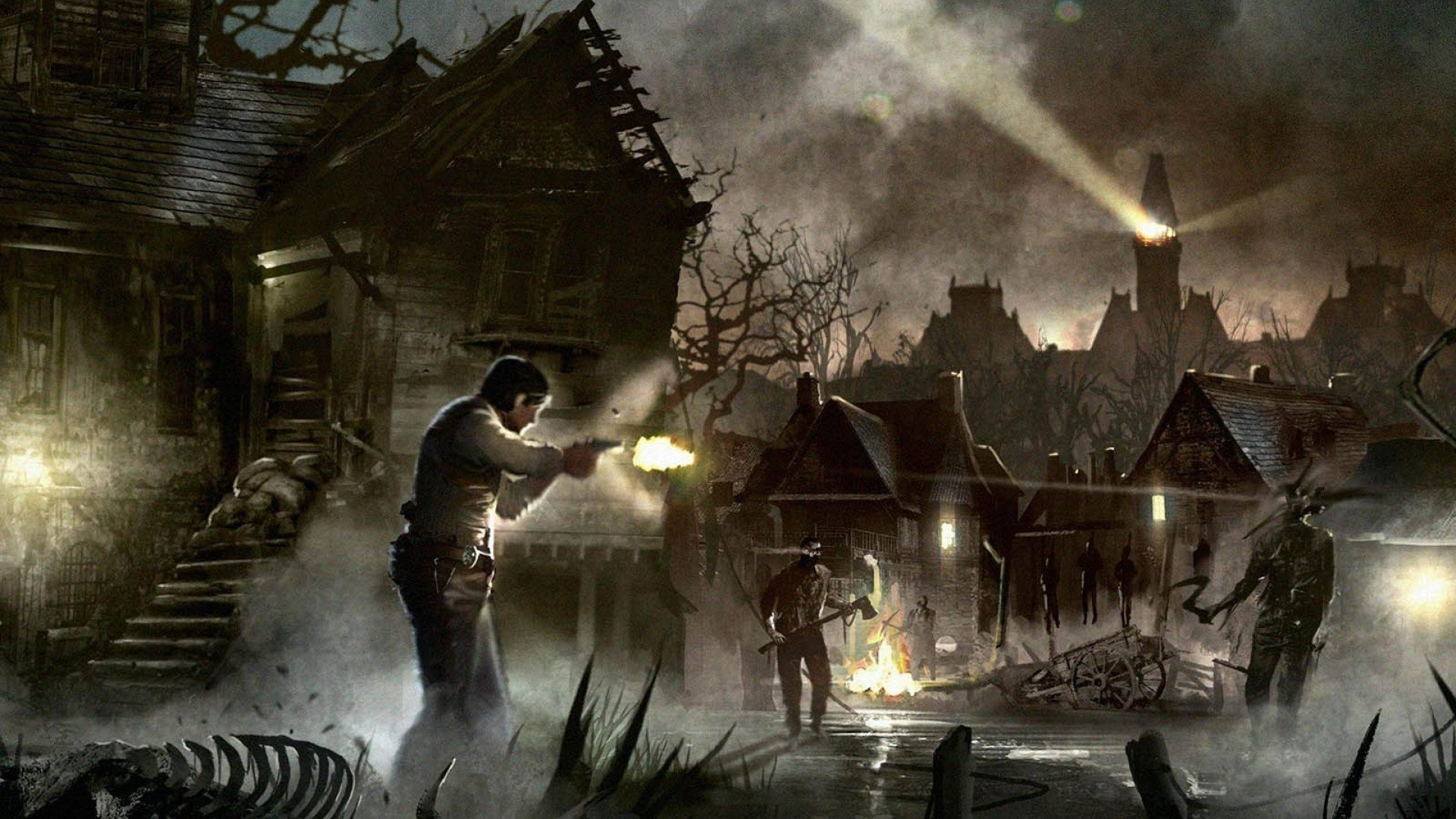 44 The Evil Within Hd Wallpapers Background Images Wallpaper Abyss