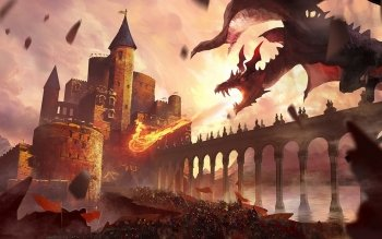 Fantasy - Dragon Wallpapers and Backgrounds ID : 517952