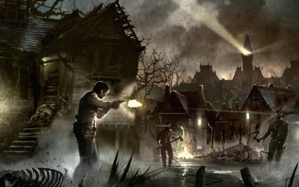 Video Game The Evil Within HD Wallpaper   Background Image