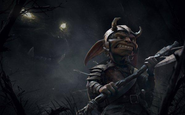 Fantasy Dark Goblin Monster HD Wallpaper | Background Image