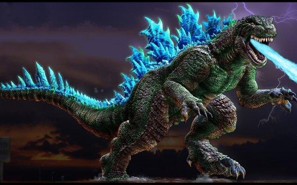 Sci Fi Godzilla HD Wallpaper   Background Image