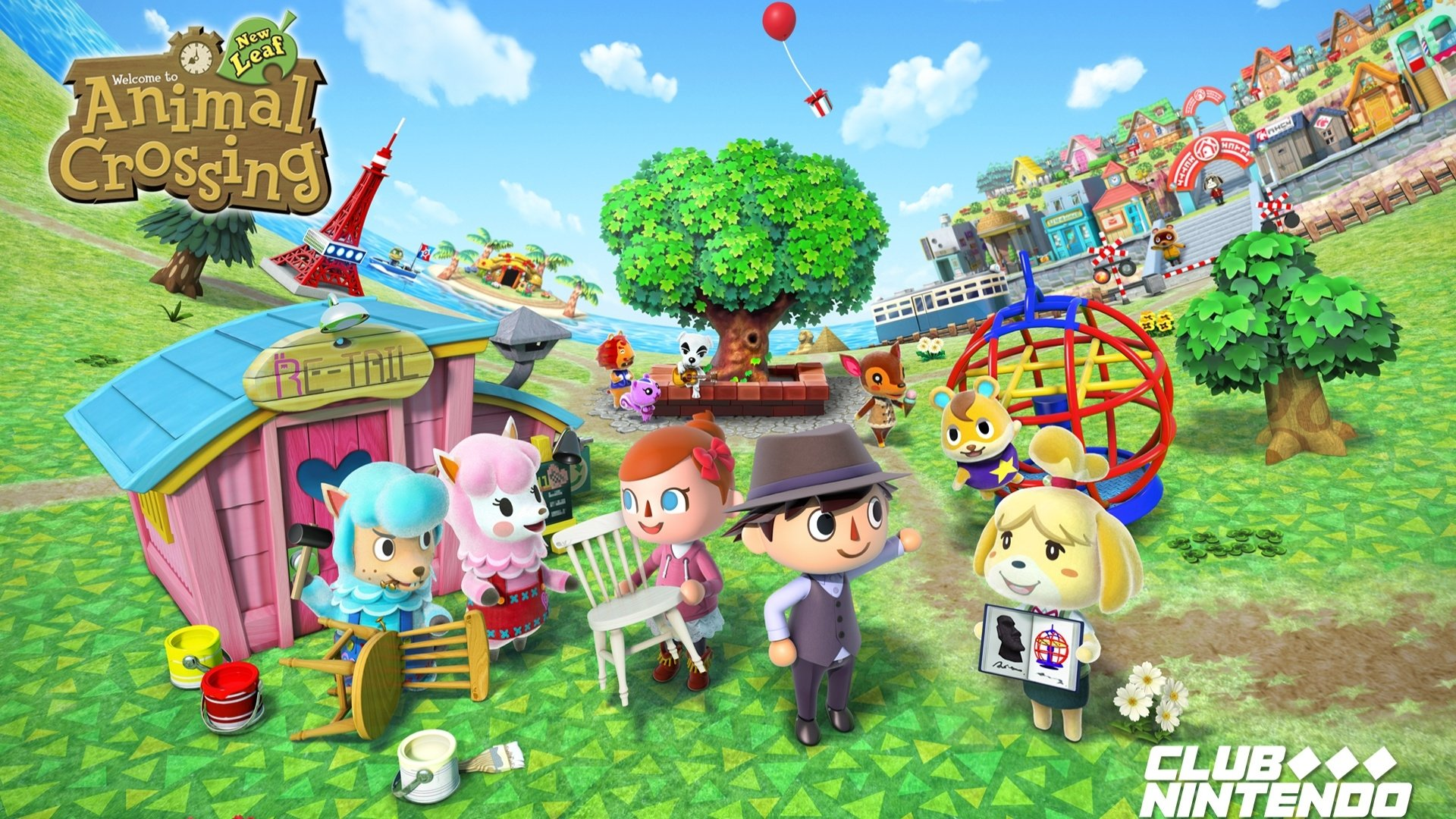 Animal Crossing: New Leaf Full HD Wallpaper And Background